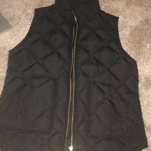Black J Crew vests